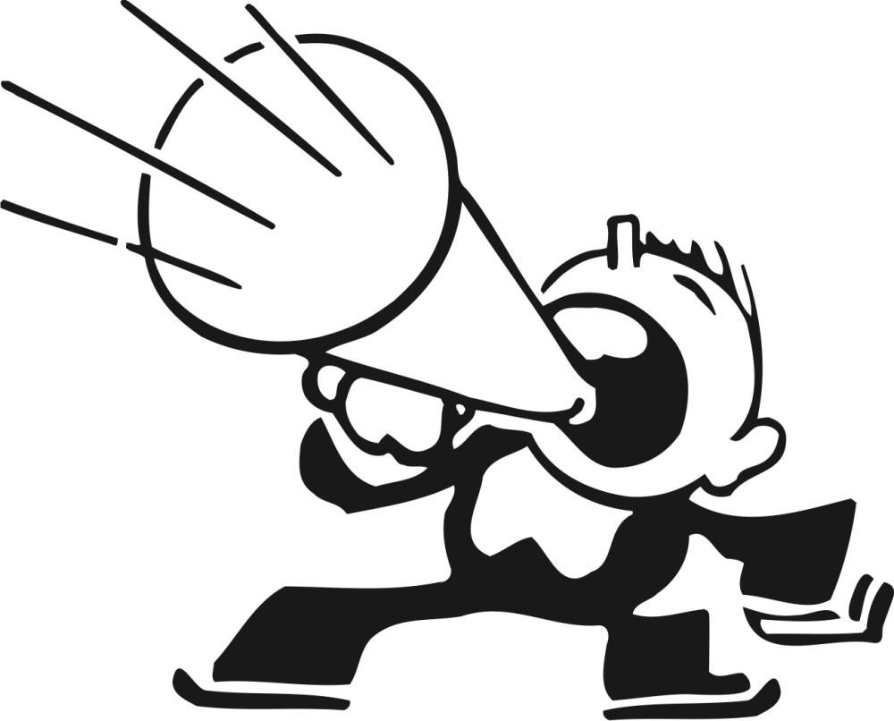 medium resolution of person speaking clipart