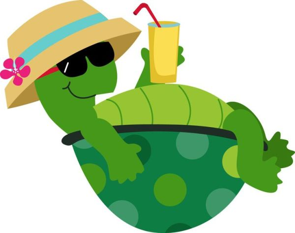 free shy turtle cliparts