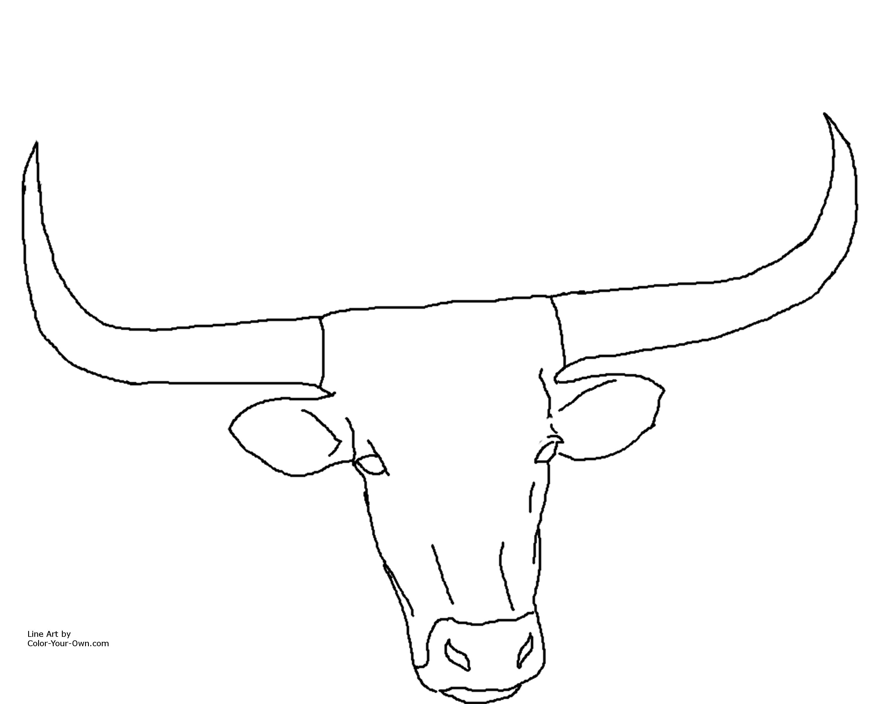 Free Longhorn Cattle Cliparts Download Free Clip Art