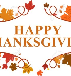 happy thanksgiving clipart banner happy [ 1300 x 627 Pixel ]