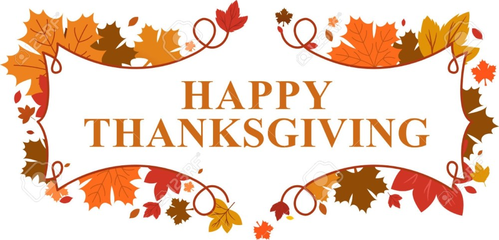 medium resolution of happy thanksgiving clipart banner happy