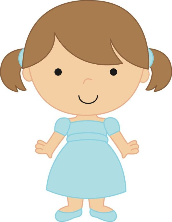 free toddler girl cliparts