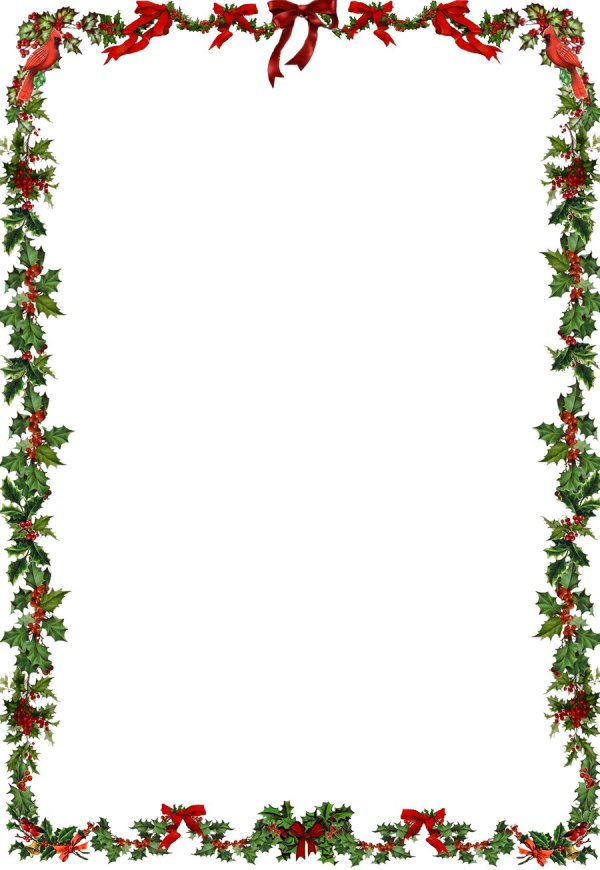 Christmas Corner Border Clipart