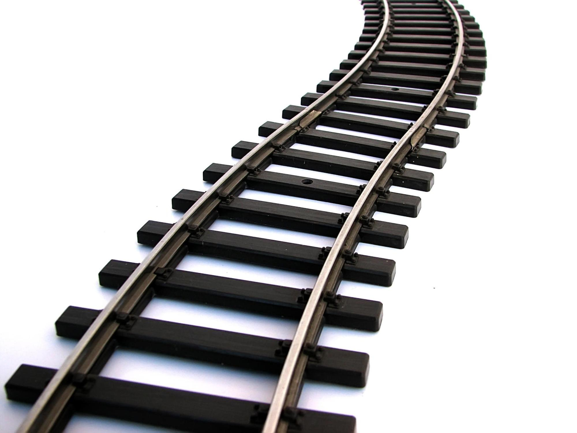 hight resolution of train track clipart