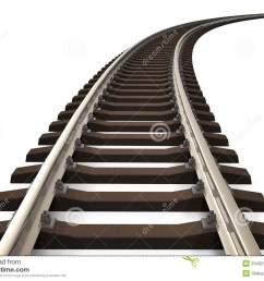 train track clip art rail [ 1300 x 1000 Pixel ]
