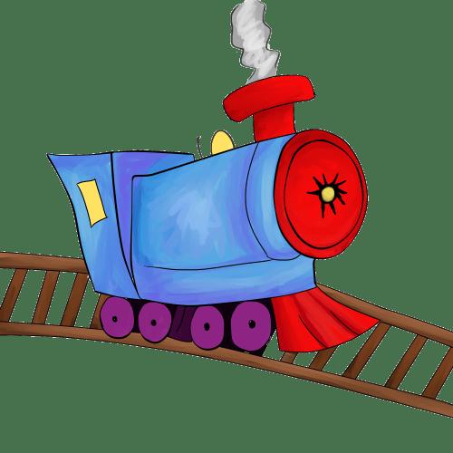 small resolution of railroad tracks clip art train