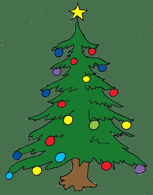 small resolution of christmas tree clip art free