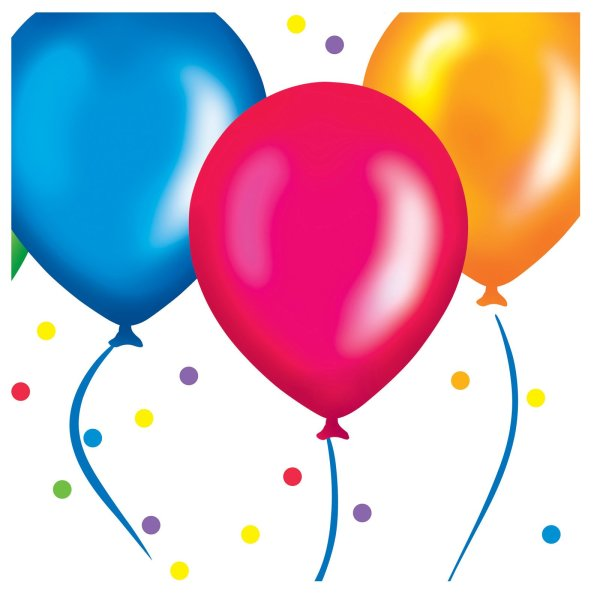Free Birthday Balloons Cliparts Clip Art