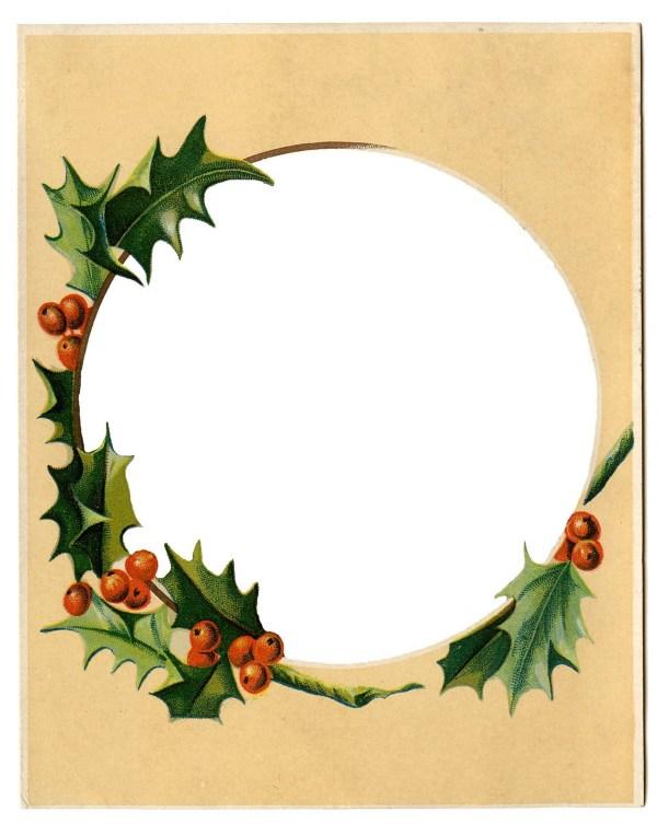 free nativity frame cliparts