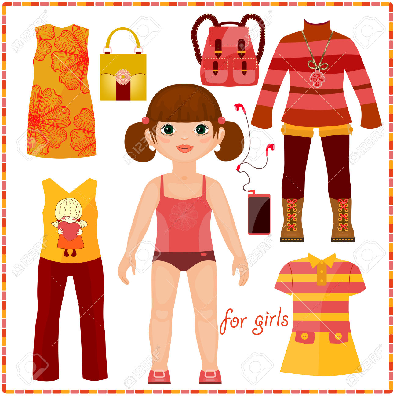 Free Doll Dress Cliparts Download Free Clip Art Free