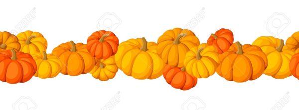 free pumpkin border cliparts