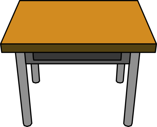 small resolution of school table clipart school