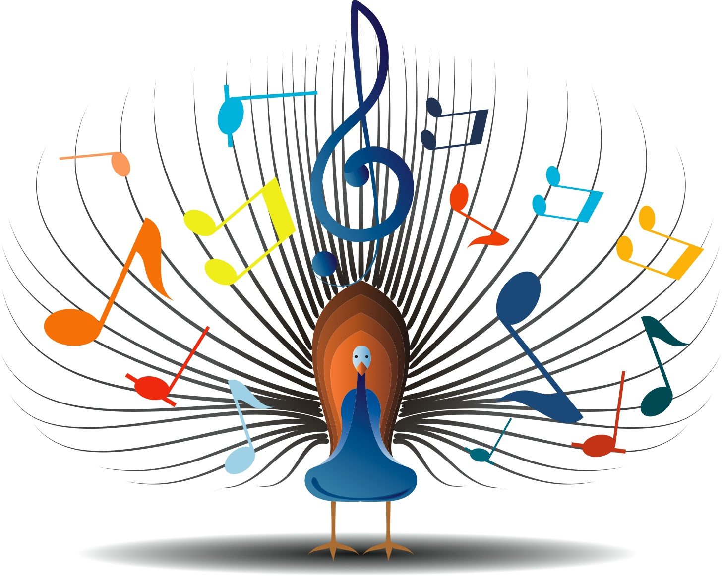 hight resolution of musical clipart