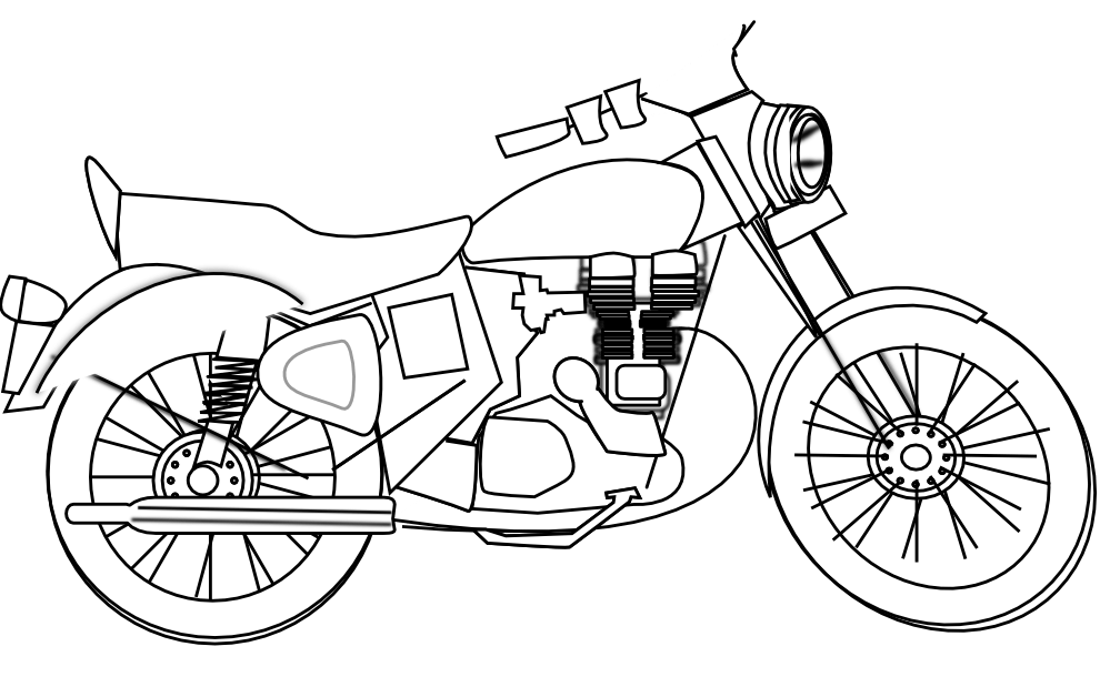 Free Motorcycle Motor Cliparts, Download Free Clip Art