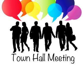 town hall meeting clipart Clip Art Library