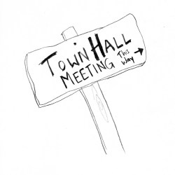 town hall meeting Clip Art Library
