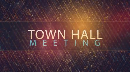 Church Town Hall Meeting Clipart