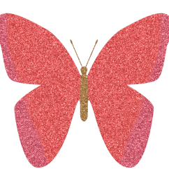 pink and purple butterfly clipart [ 2202 x 2202 Pixel ]