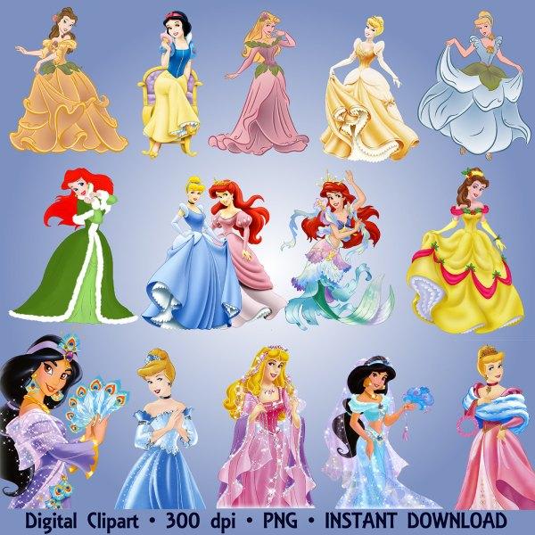 Disney Princess Snow White Clip Art