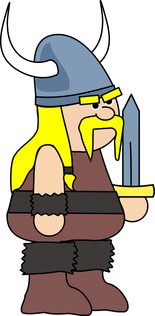 free viking warrior cliparts