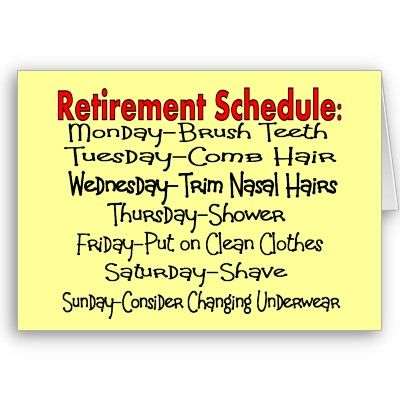 free funny retirement cliparts