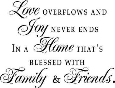 Family and friends clipart