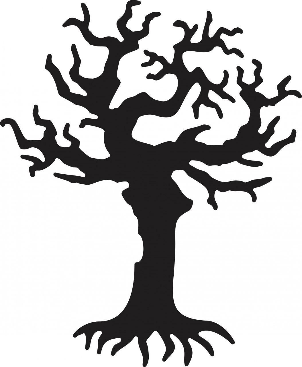 hight resolution of spooky tree clip art spooky