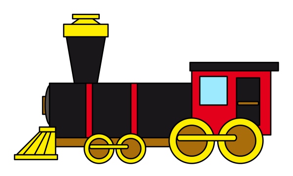 Free Steam Train Cliparts Clip Art
