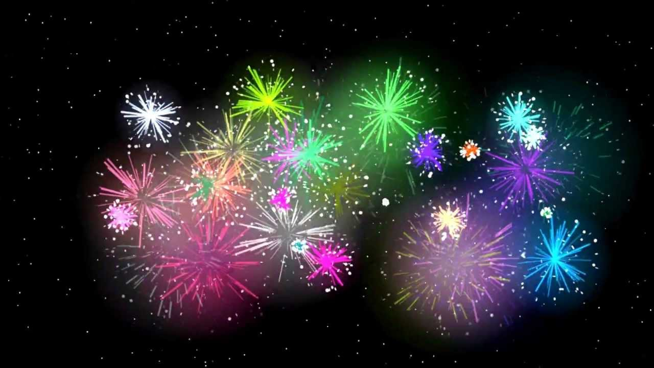 hight resolution of 3d hd spectacular fireworks display show animation extreme