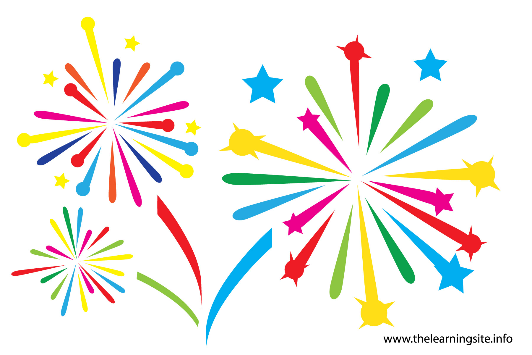 hight resolution of animated clipart fireworks gclipart