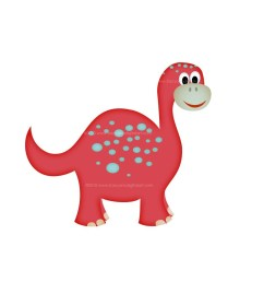cute dinosaur clipart [ 1000 x 1000 Pixel ]