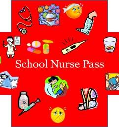 school nurse pass clipart [ 1331 x 1056 Pixel ]