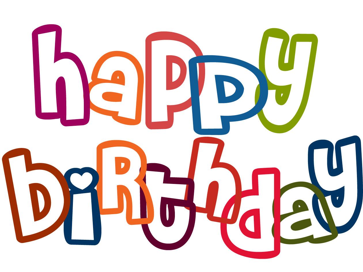 hight resolution of happy birthday clipart
