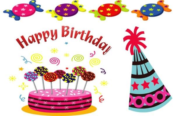 free happy birthday cliparts