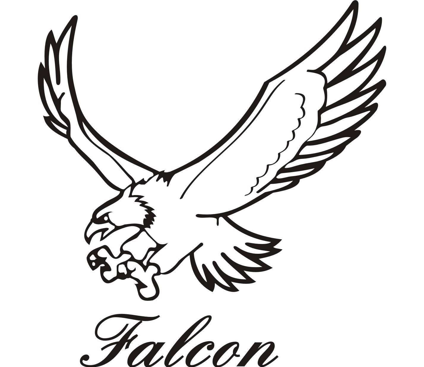 Free Falcon Outline Cliparts Download Free Clip Art Free