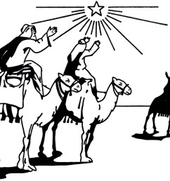 wise men clipart black and white [ 1800 x 1109 Pixel ]