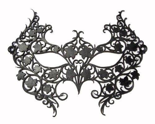 small resolution of masquerade mask silhouette