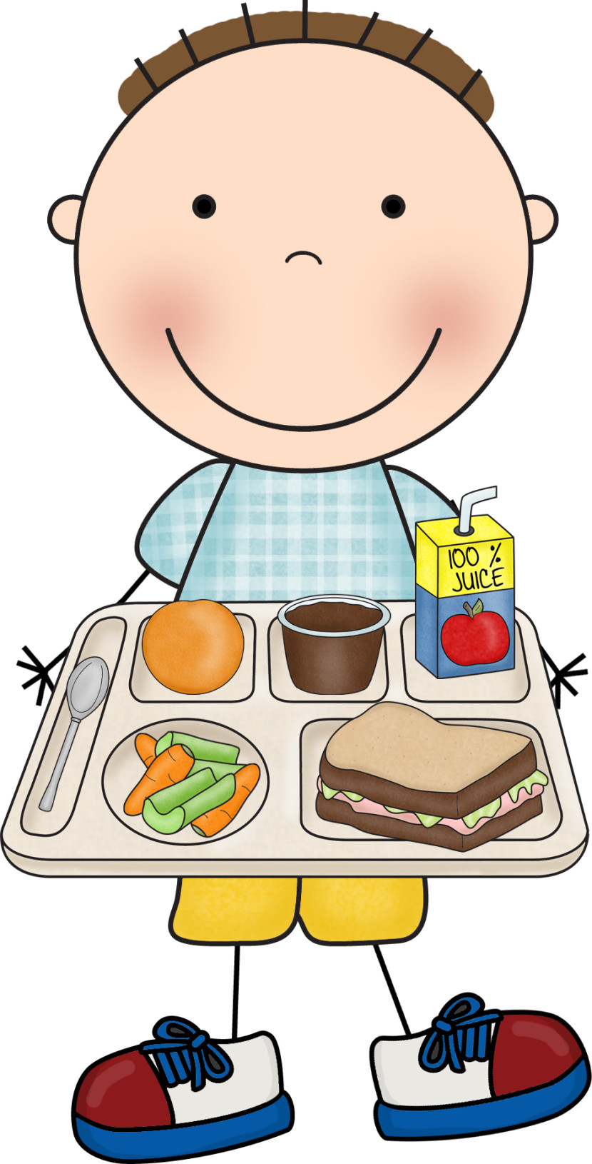 hight resolution of school lunch and breakfast clipart
