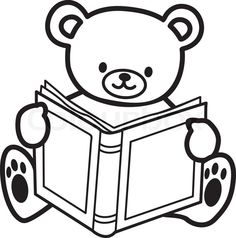 Free Bear Book Cliparts, Download Free Clip Art, Free Clip