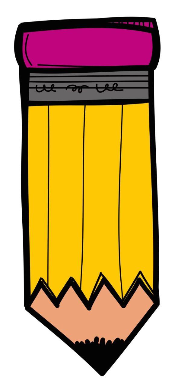 free melonheadz pencil cliparts