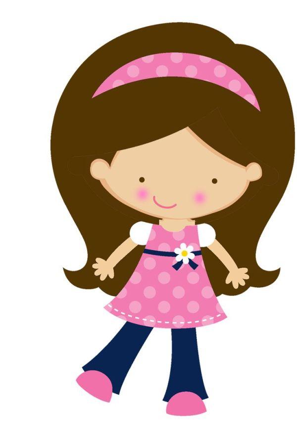 free sociable girl cliparts