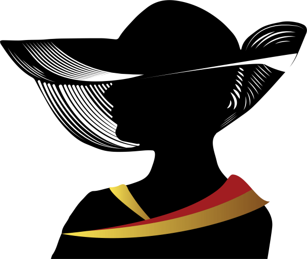 Free Lady Hat Cliparts Clip Art Clipart Library