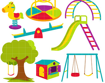 free outdoor play cliparts