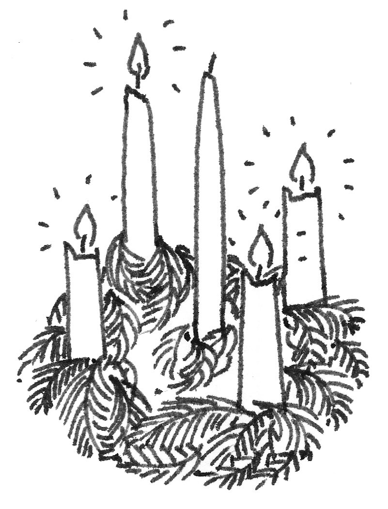hight resolution of advent w clipart