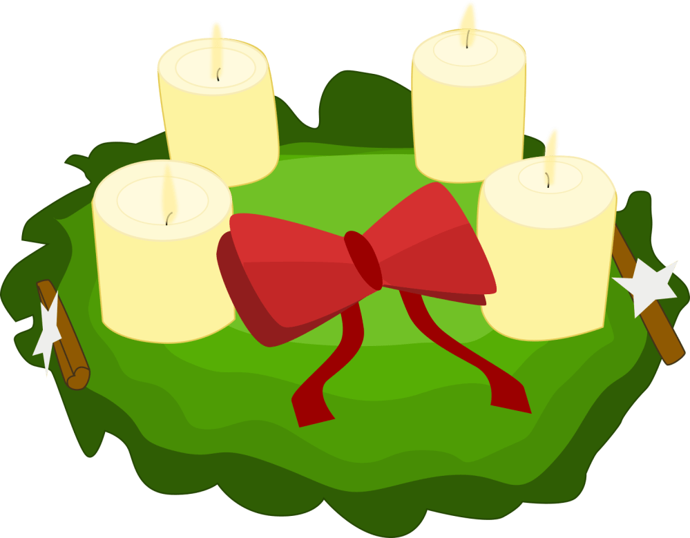medium resolution of cool advent wreath clipart picture