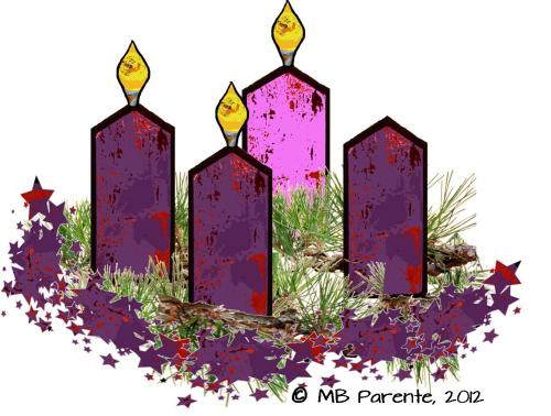 small resolution of 4th sunday of advent wreath clipart