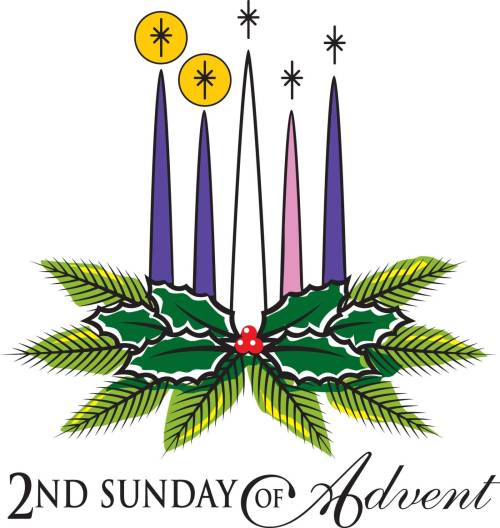 small resolution of second sunday of advent wreath clipart