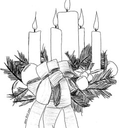christmas advent calendar clipart black and white [ 777 x 1028 Pixel ]