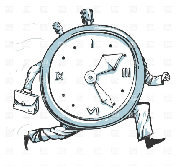 clock time card clip art