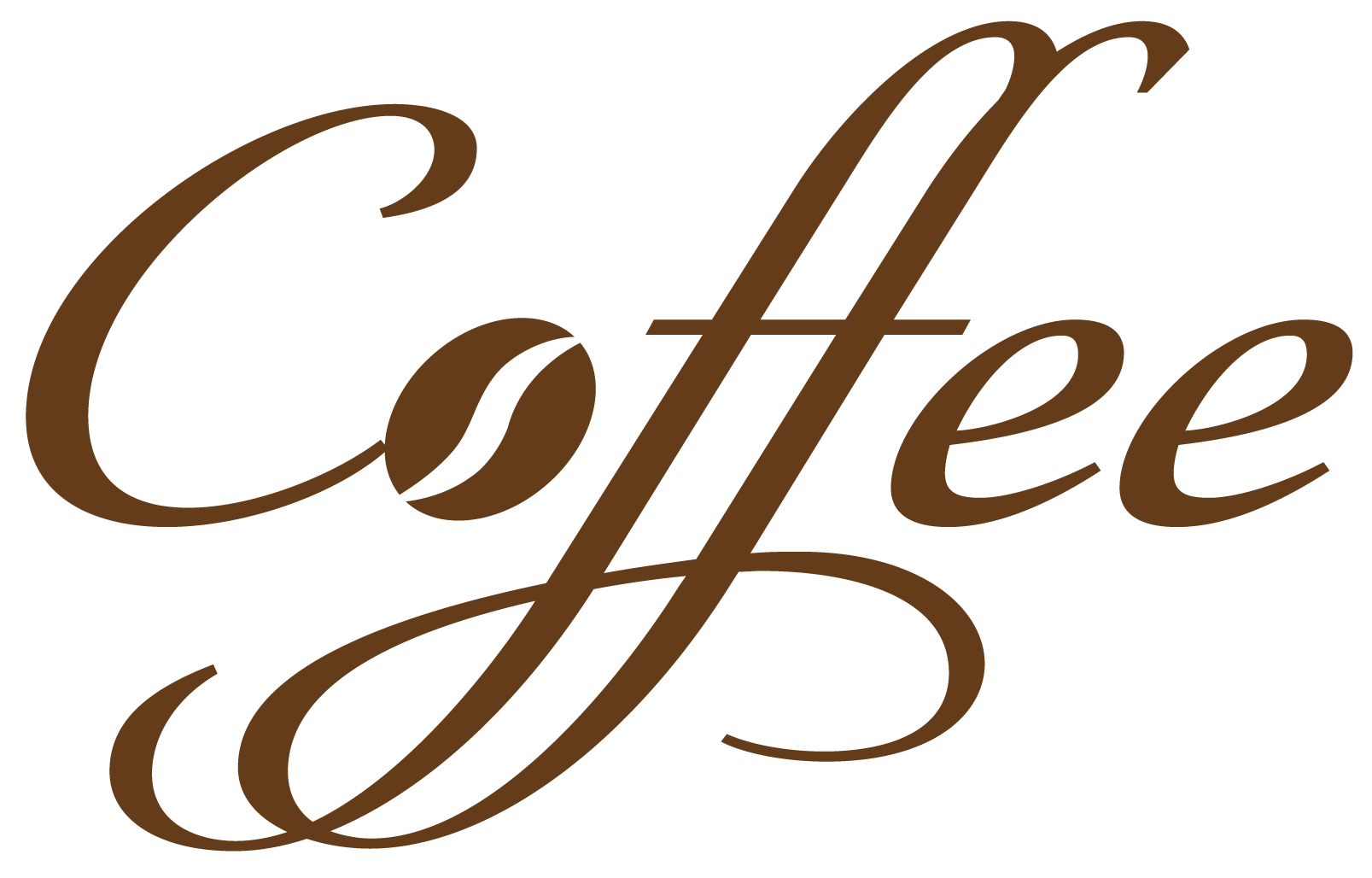 hight resolution of coffee decorative text png vector clipart